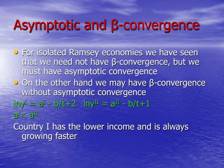 Asymptotic and
