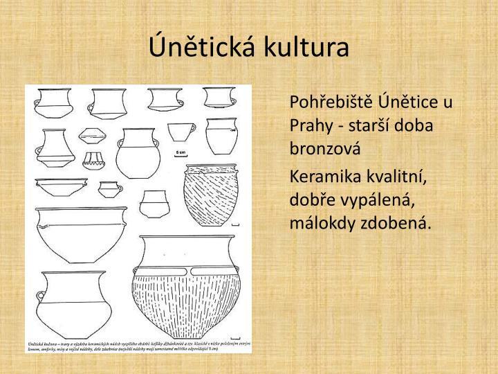 Únětická kultura