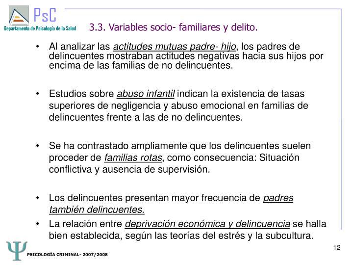 PSICOLOGÍA CRIMINAL- 2007/2008