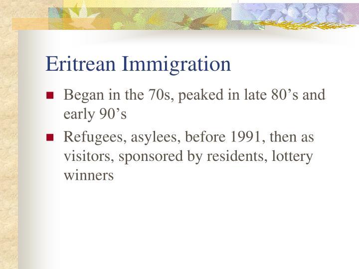Eritrean Immigration