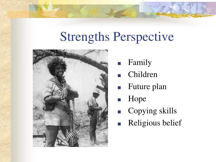Strengths Perspective
