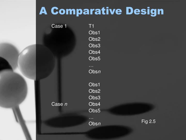 A Comparative Design