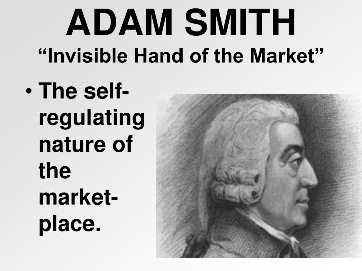 The self-regulating nature of the market-place.
