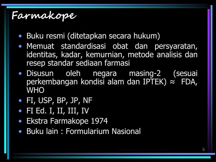 Farmakope