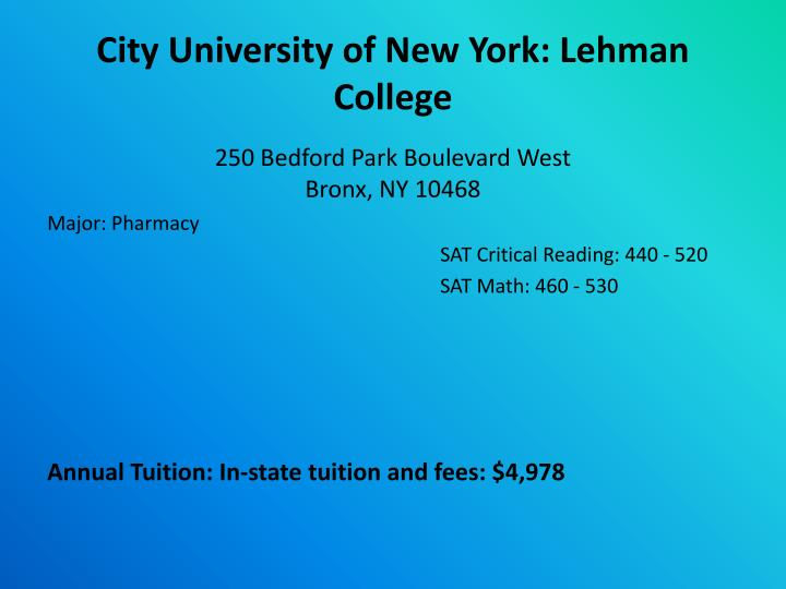 Long Island University Brooklyn Campus Tuition And Fees