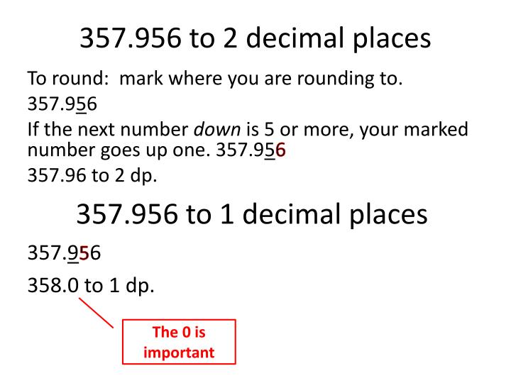 357 956 to 2 decimal places