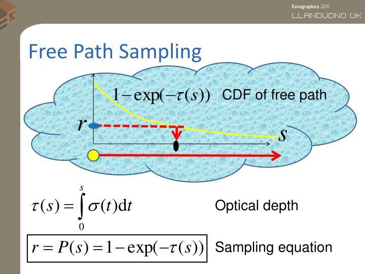 Free Path Sampling