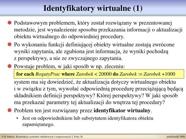Identyfikatory wirtualne (1)