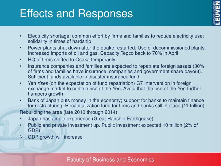Effects and Responses