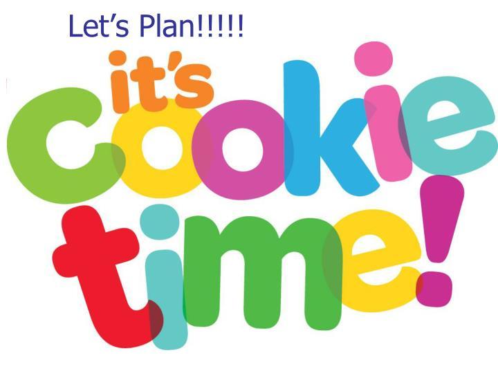 Let's Plan!!!!!
