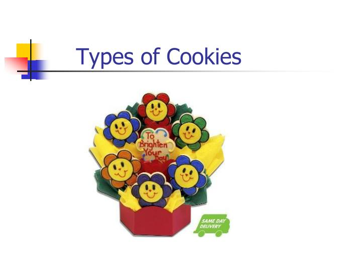 Types of Cookies
