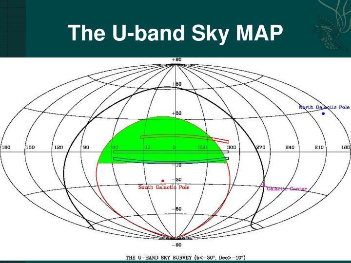 The U-band Sky MAP