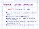 analysis collision detection
