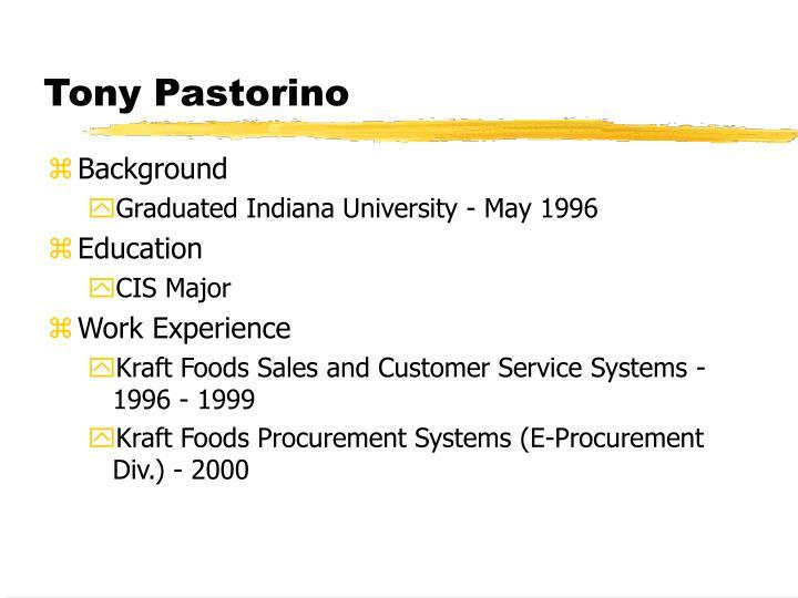 Tony Pastorino