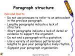 paragraph structure2