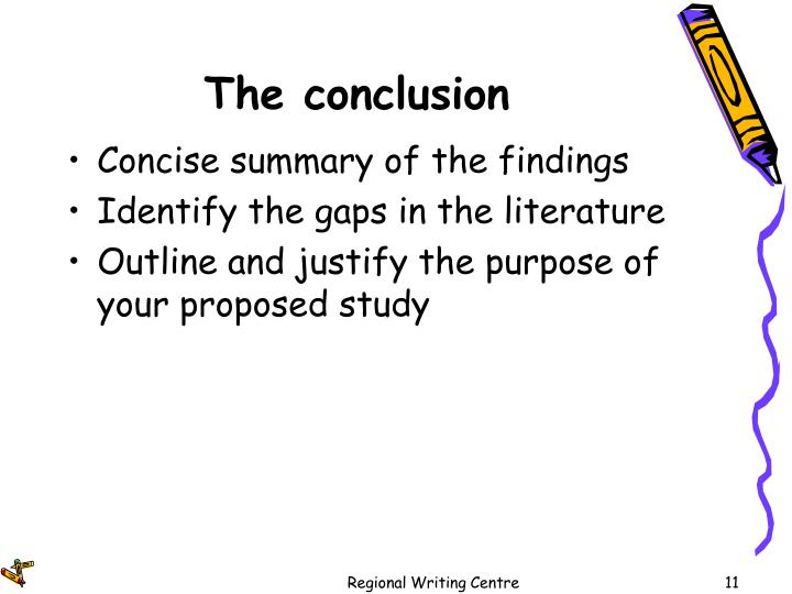 The conclusion