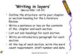 writing in layers murray 2006 125 27