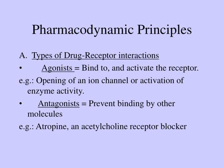Pharmacodynamic Principles