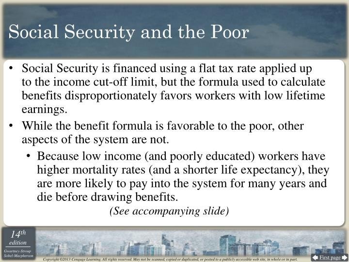 Social Security and the Poor