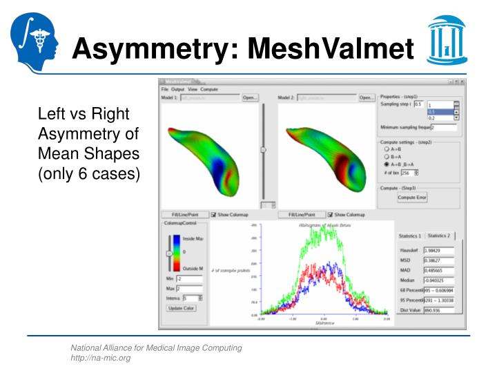 Asymmetry: MeshValmet