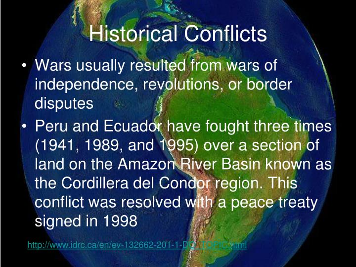 Historical Conflicts