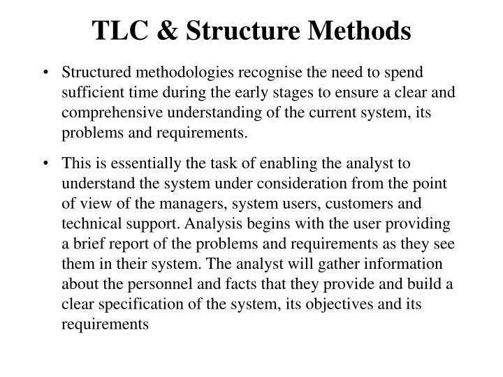 TLC & Structure Methods