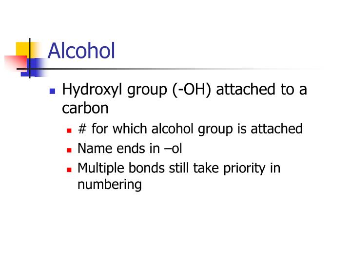 Hydroxyl group (-OH) attached to a carbon