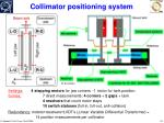 collimator positioning system