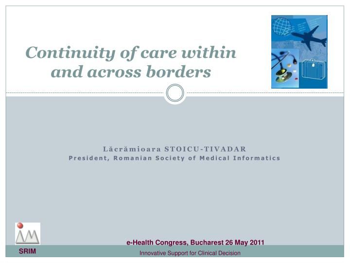 continuity of care within and across borders