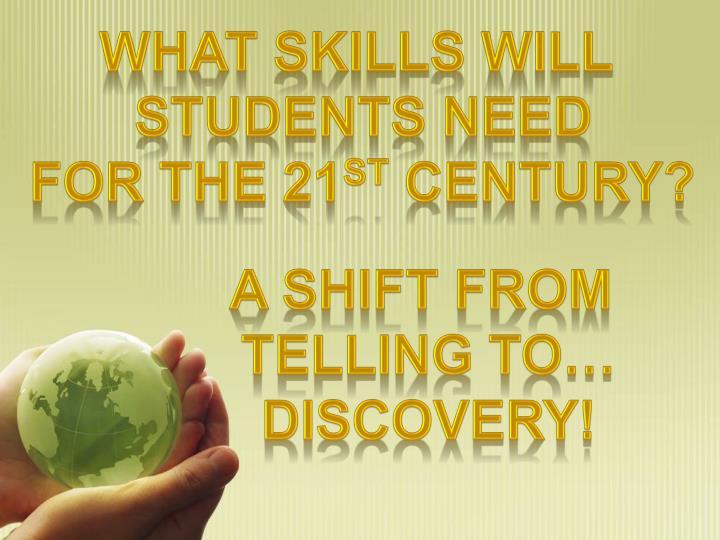 What skills will