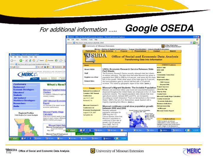 Google OSEDA