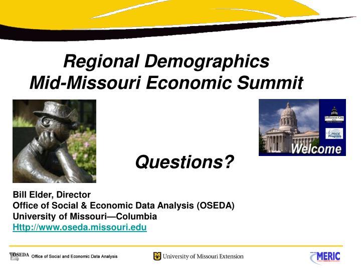 Regional Demographics