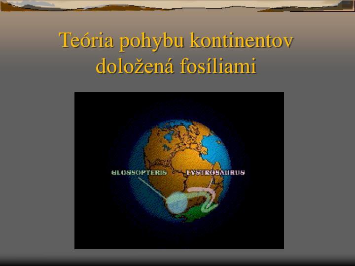 Teória pohybu kontinentov