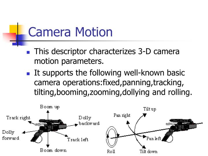Camera Motion