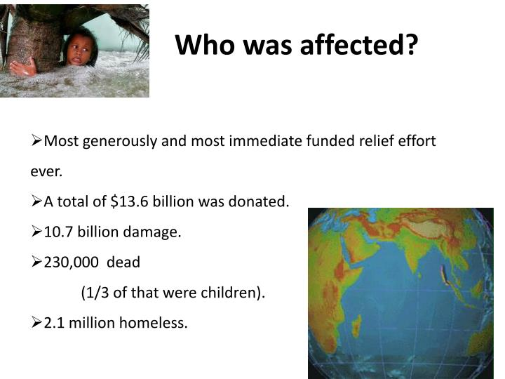 Who was affected?