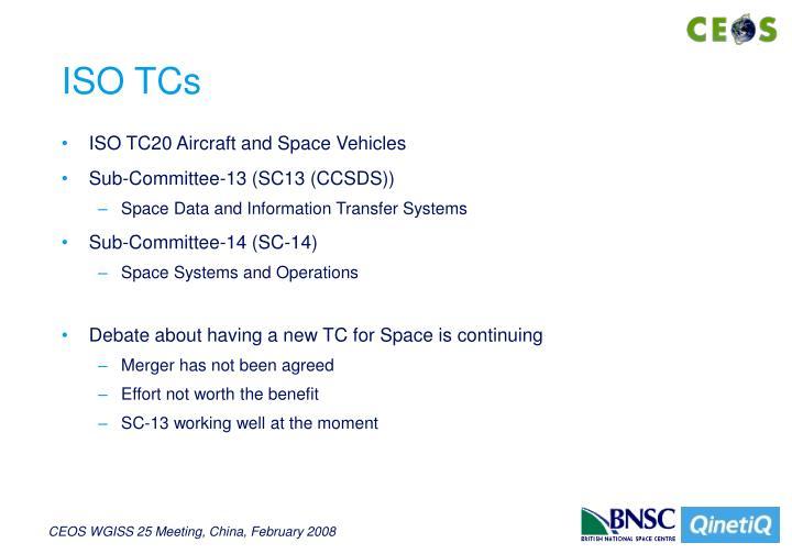 ISO TCs