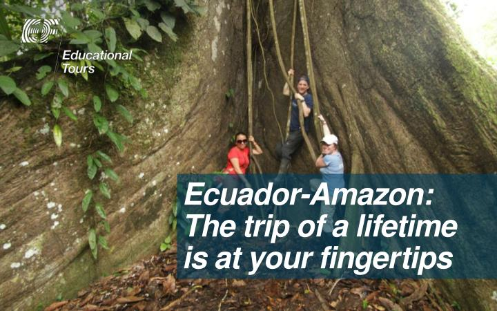 Ecuador-Amazon: The trip of a lifetime is at your finge