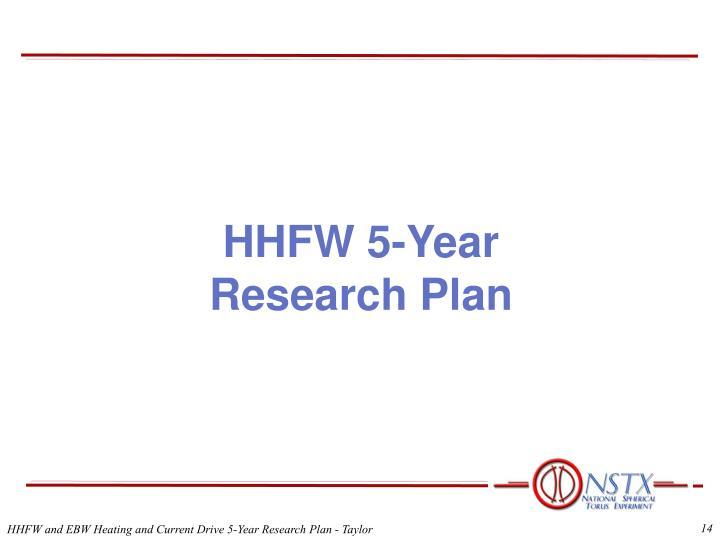 HHFW 5-Year