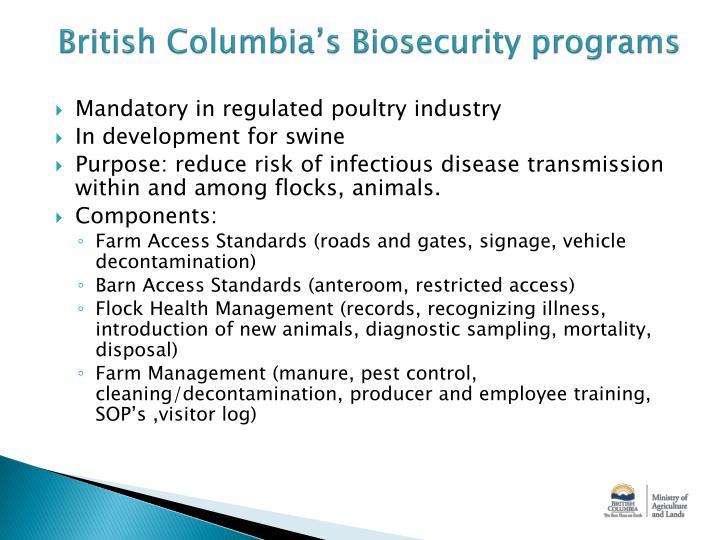 British Columbia's
