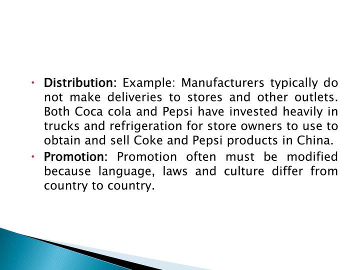 Distribution: