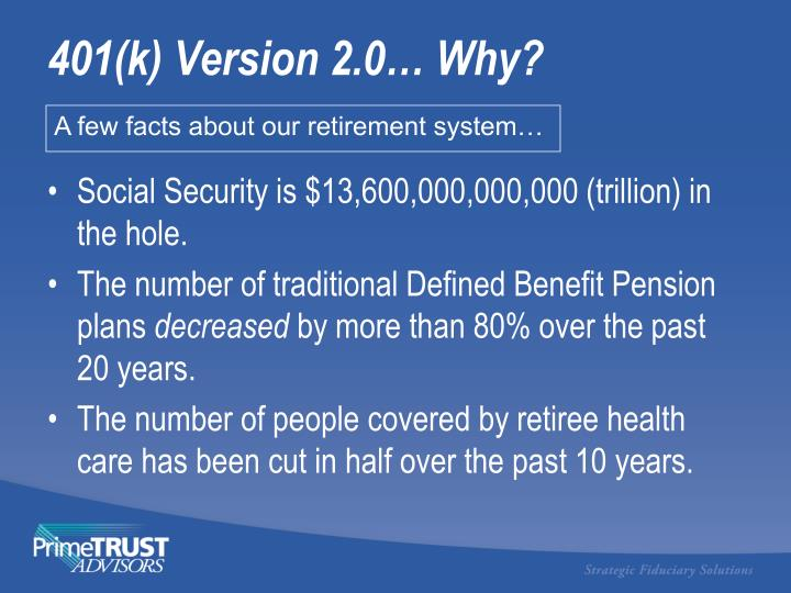 Social Security is $13,600,000,000,000 (trillion) in the hole.