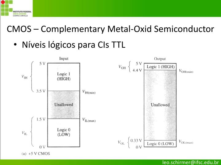 CMOS – Complementary Metal-Oxid Semiconductor