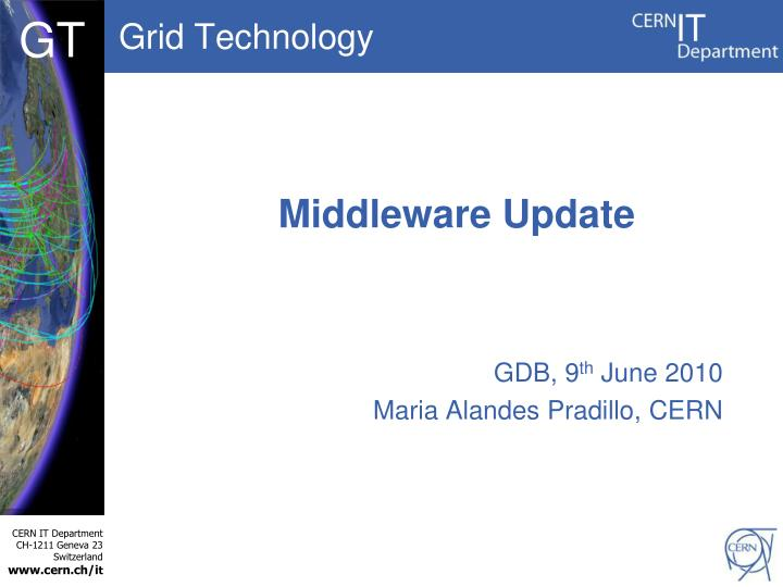 Middleware update