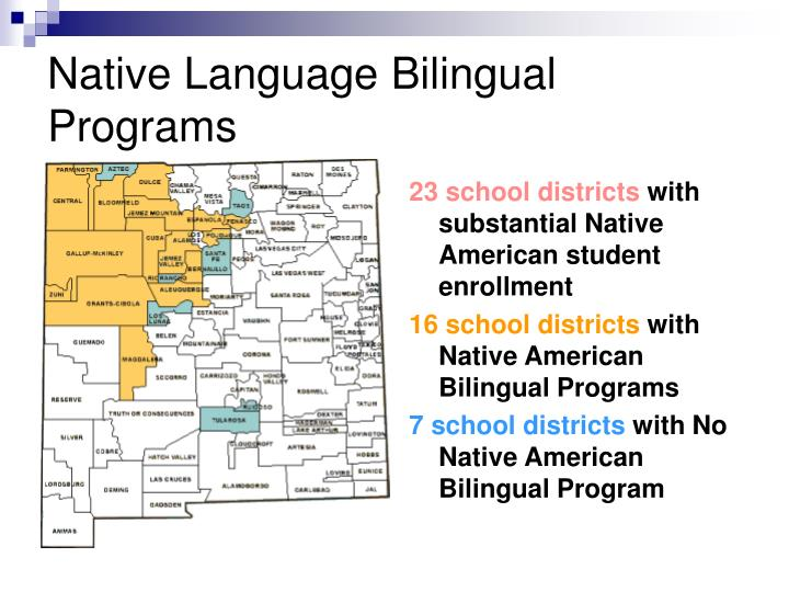Native Language Bilingual Programs