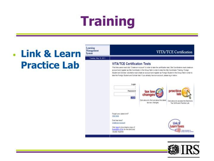 Link & Learn Practice Lab