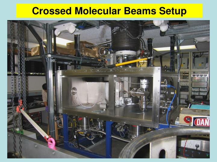 Crossed Molecular Beams Setup