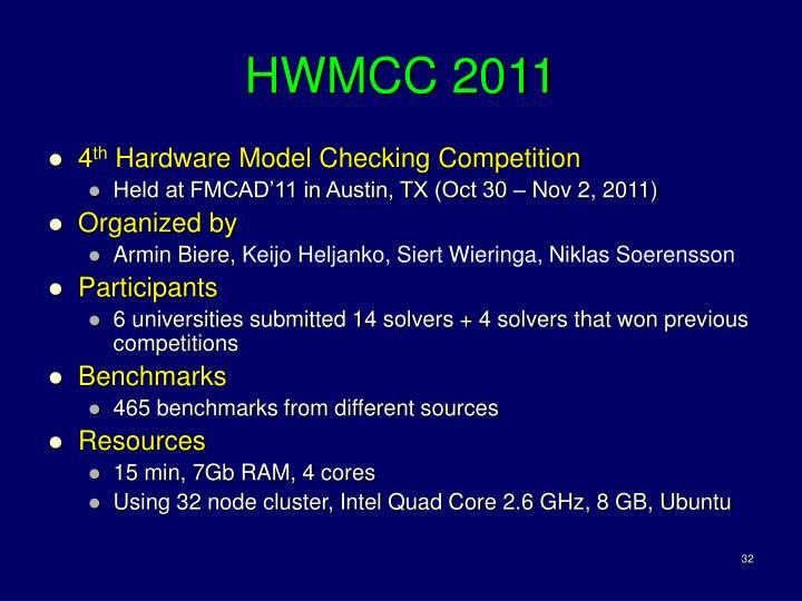 HWMCC 2011