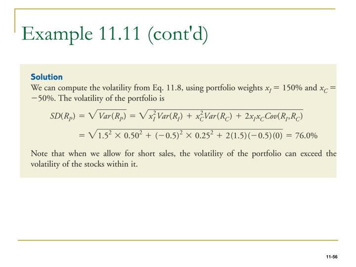 Example 11.11 (cont'd)