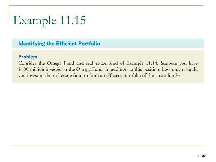 Example 11.15