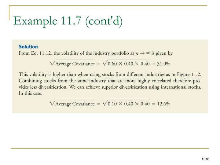 Example 11.7 (cont'd)